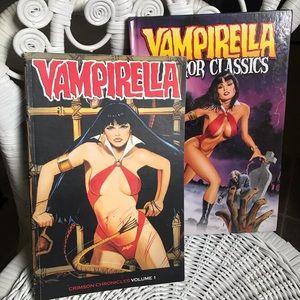 Set of 2 VAMPIRELLA graphic novels // horror comic